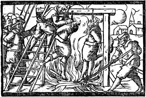 Heksenverbranding in Roermond in 1613