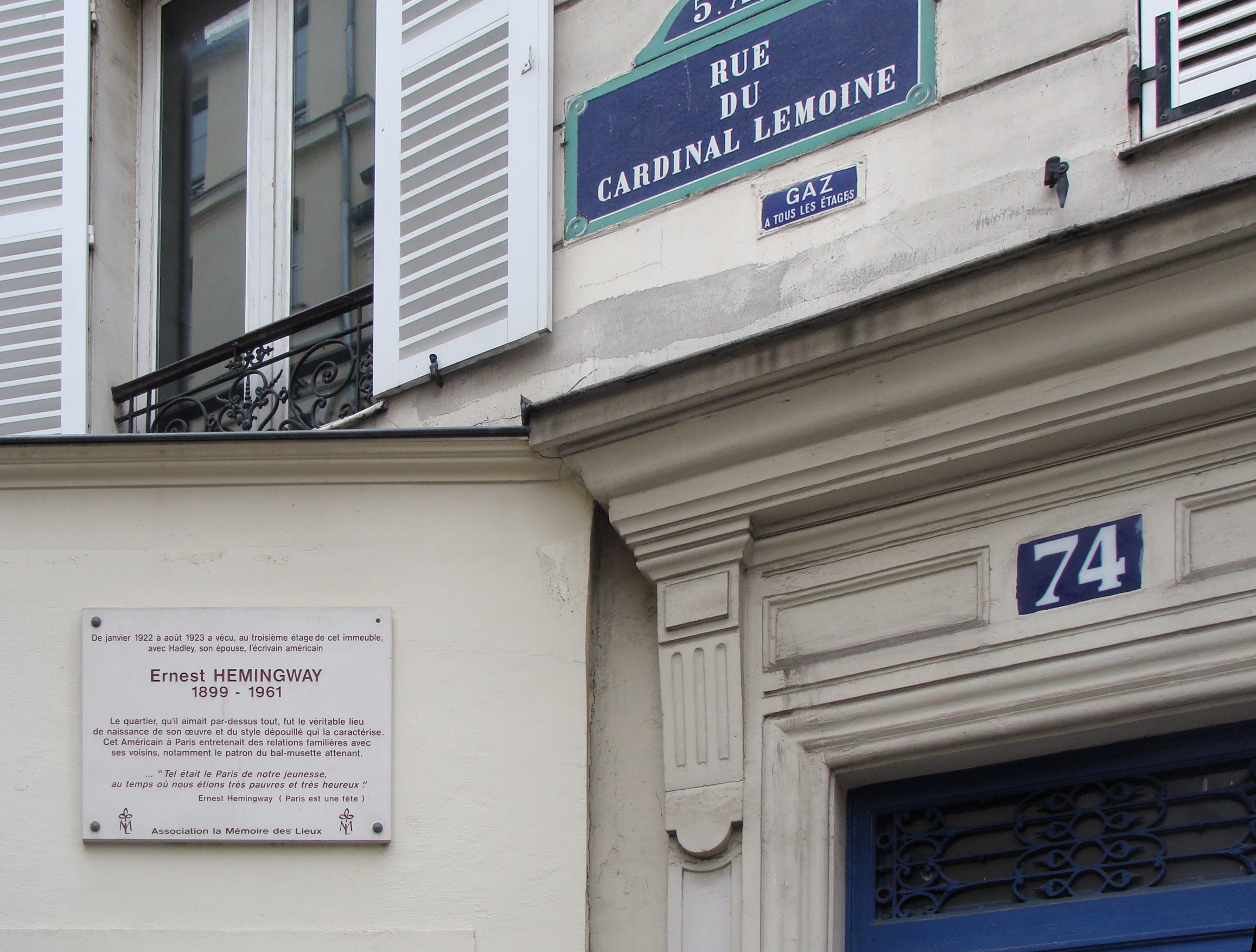 Accommodations in  Paris Rue du Cardinal Lemoine, France, visiting things to do in France, Travel Blog, Share my Trip