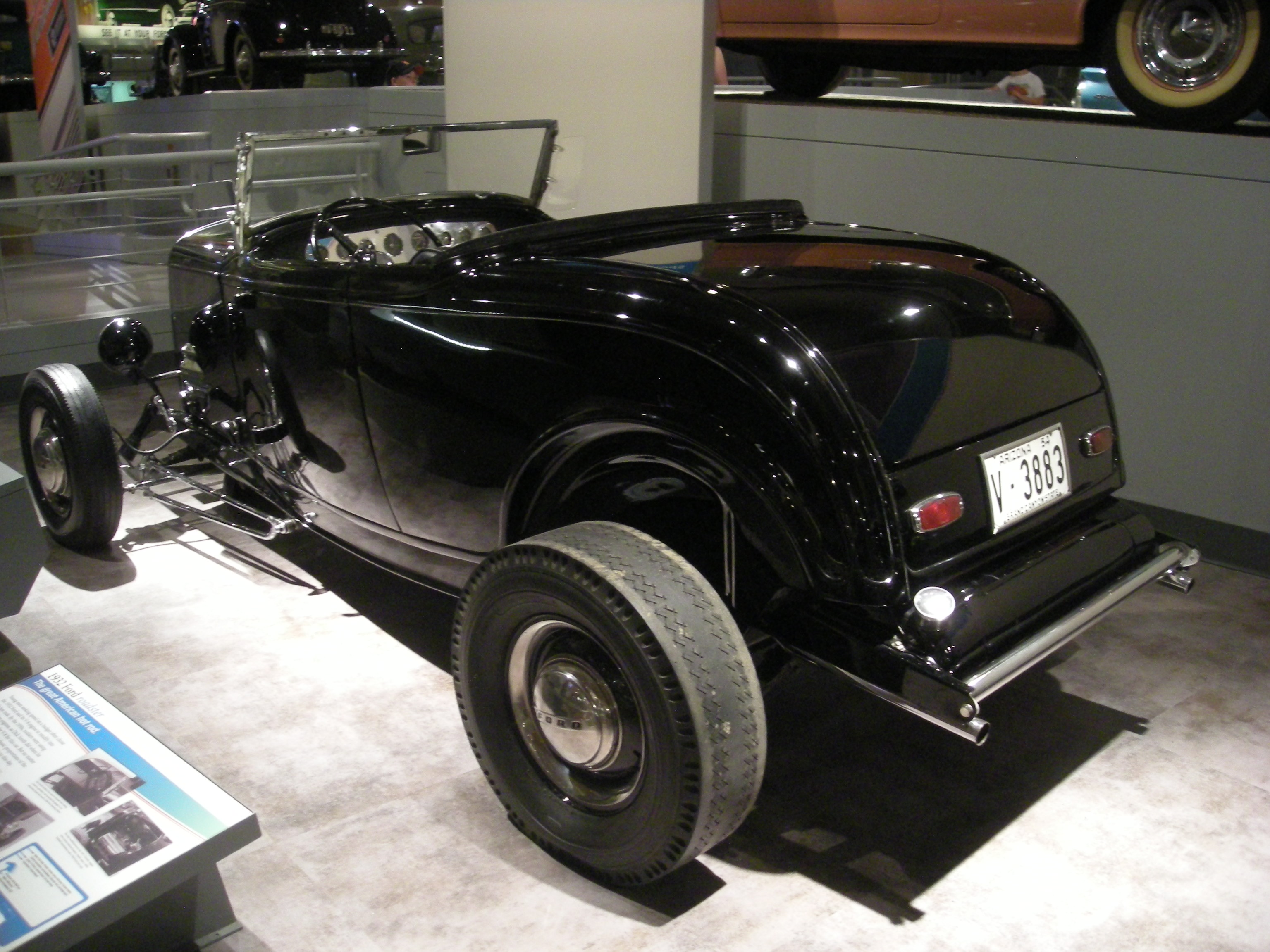 File:Henry Ford Museum August 2012 84 (1932 Ford roadster).jpg