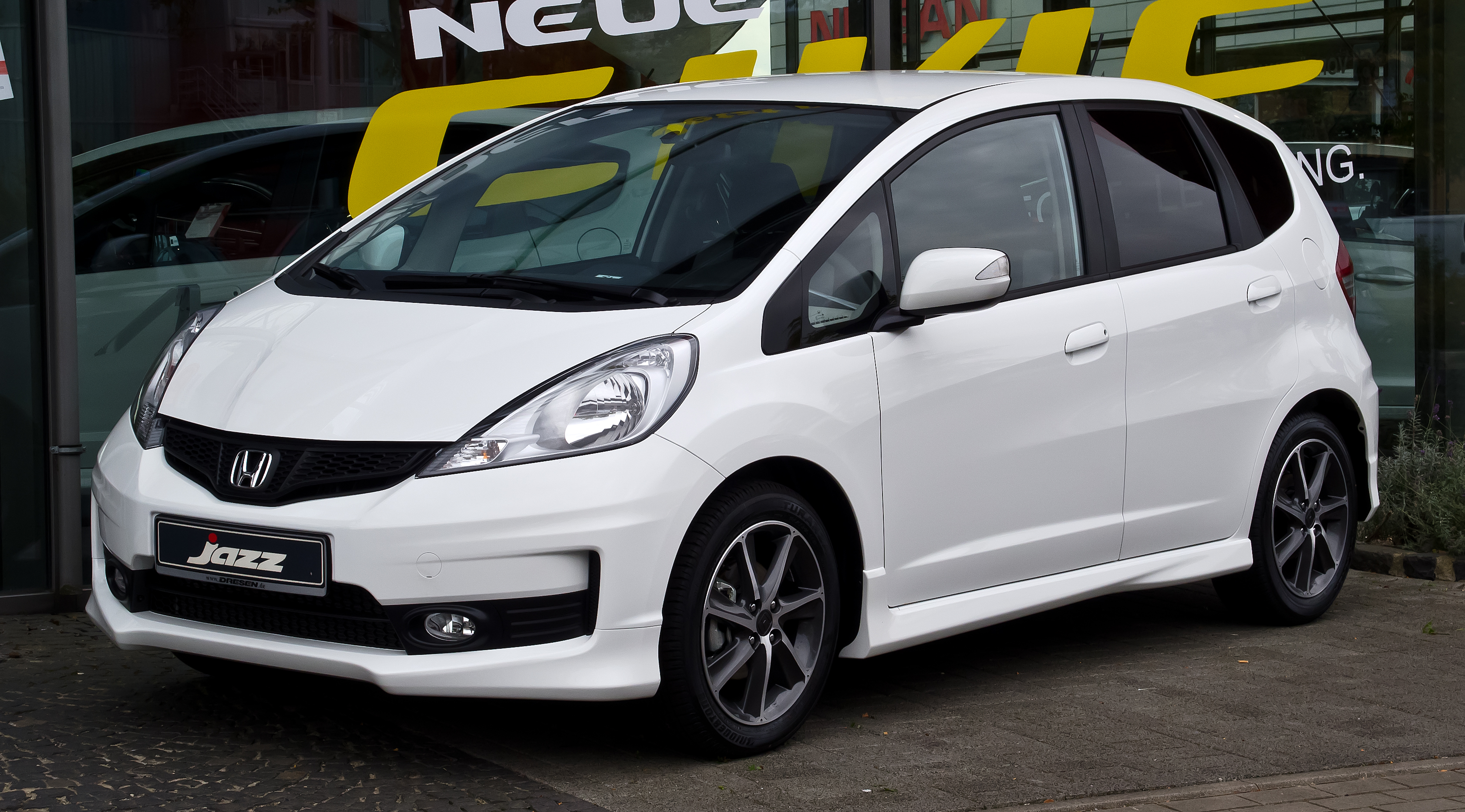 file honda jazz 1 4 i vtec si iii facelift frontansicht 23 september 2012 d. Black Bedroom Furniture Sets. Home Design Ideas