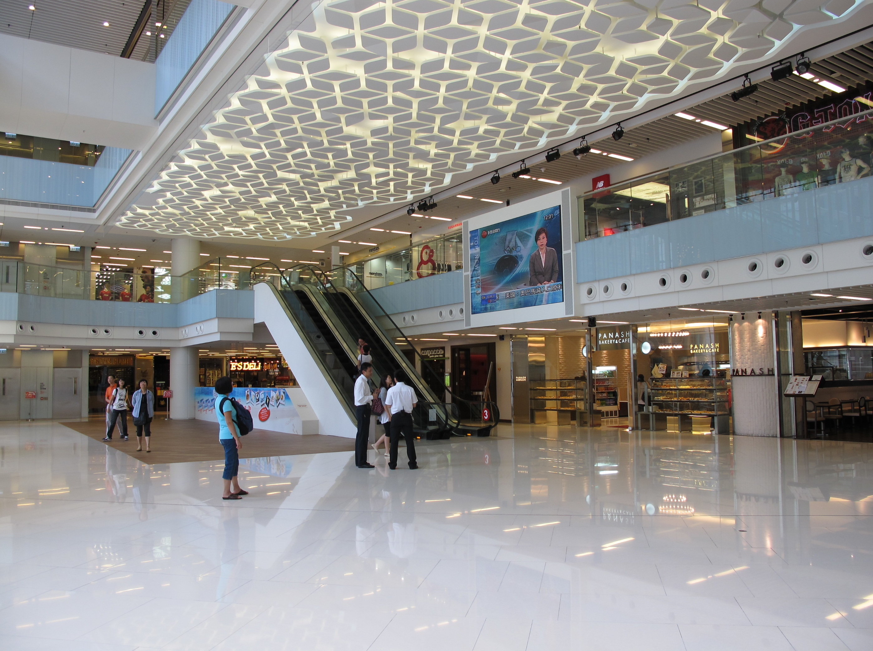 Ifc mall google retail mall pinterest for Hk architecture firm