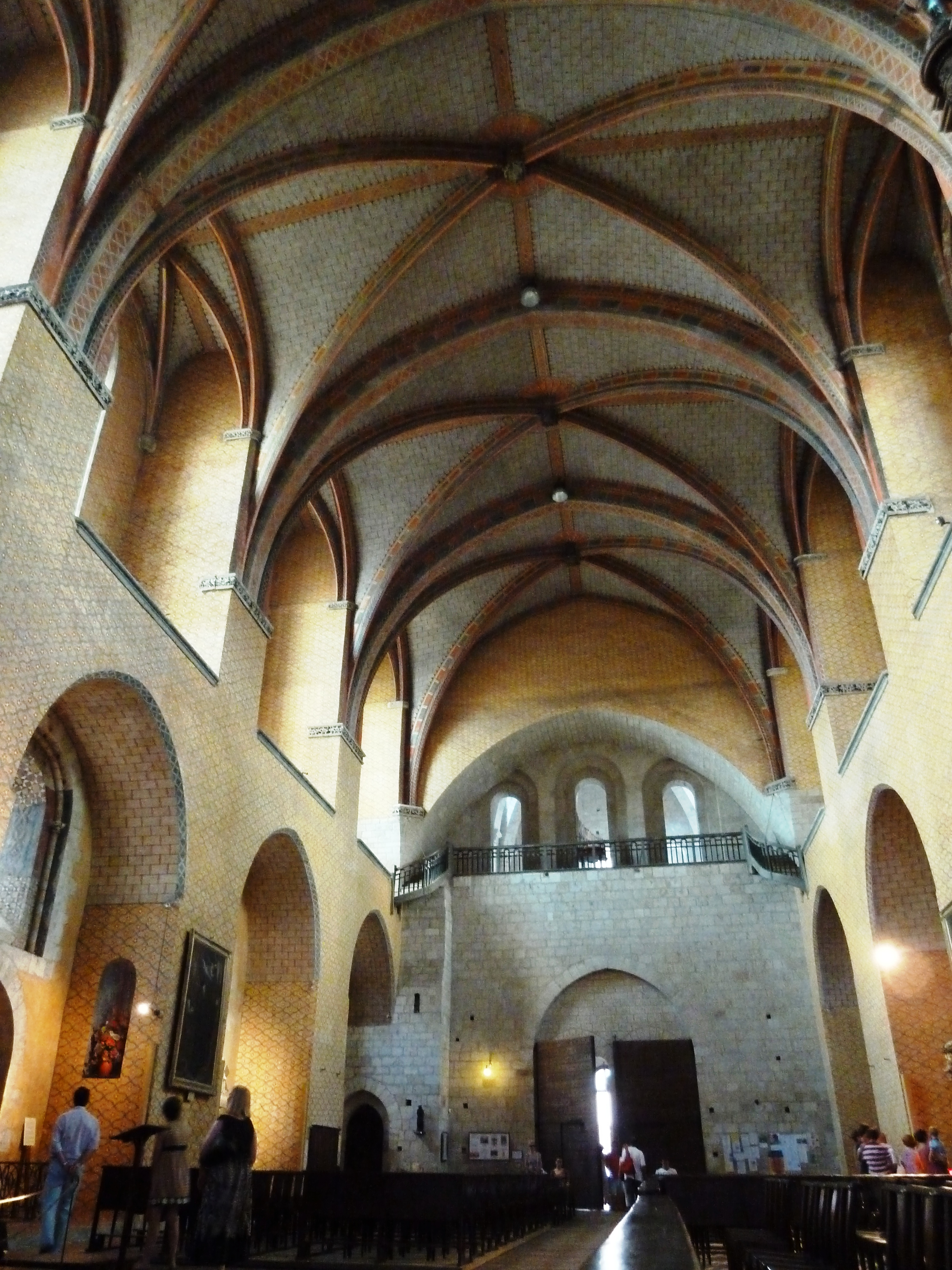File interieur eglise abbatiale wikimedia for Interieur eglise