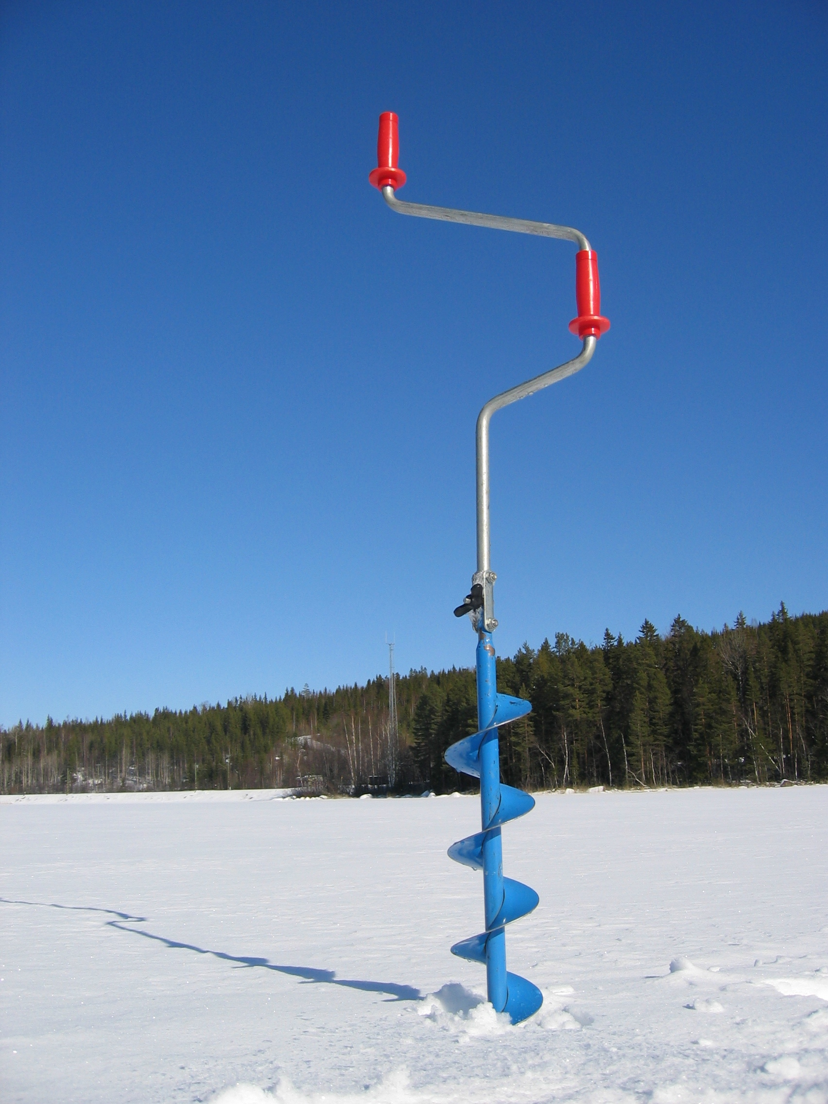 File wikimedia commons for Ice fishing augers
