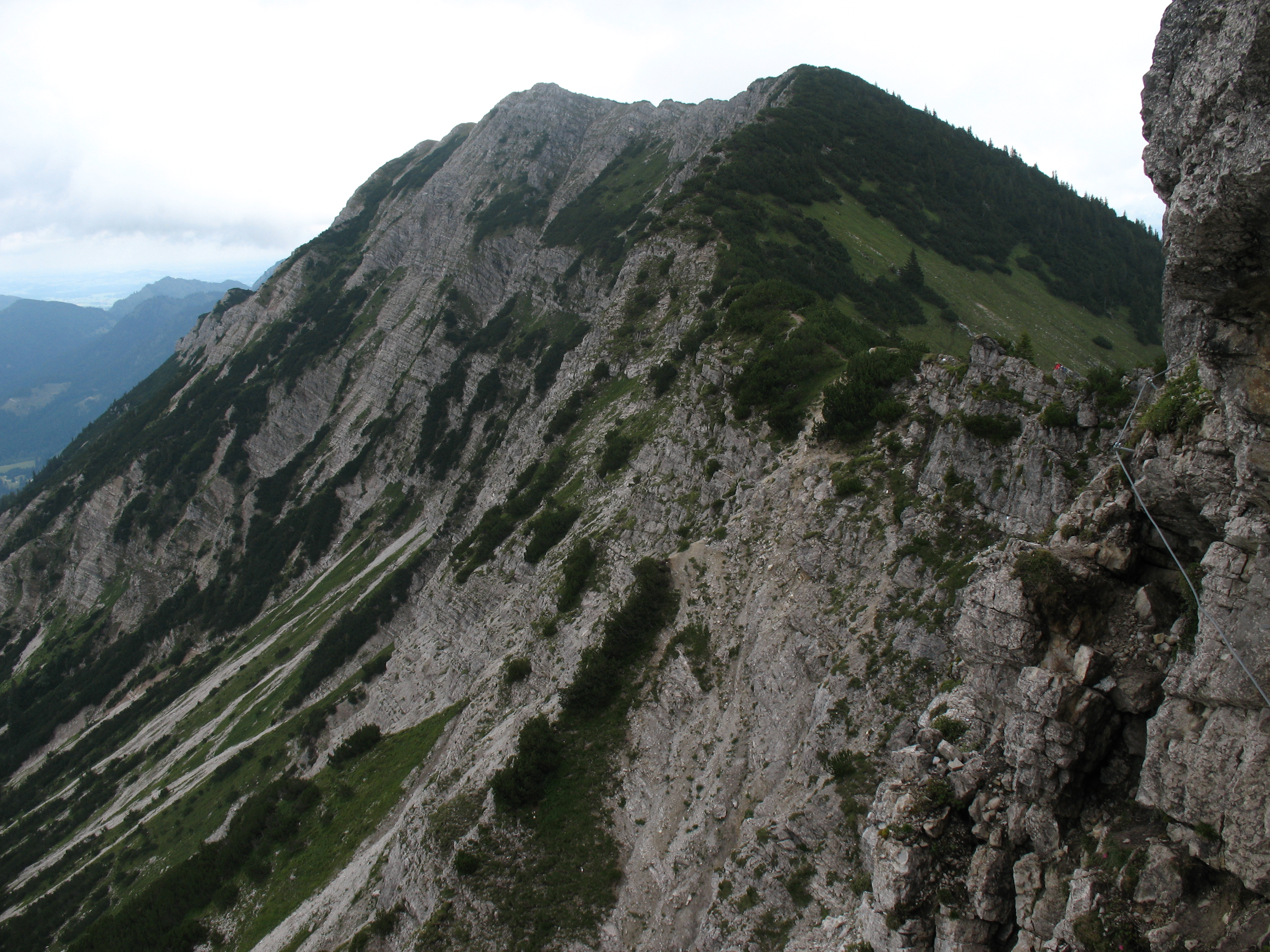 Klettersteig Iseler : Datei iseler klettersteig kühgundkopf g u wikipedia