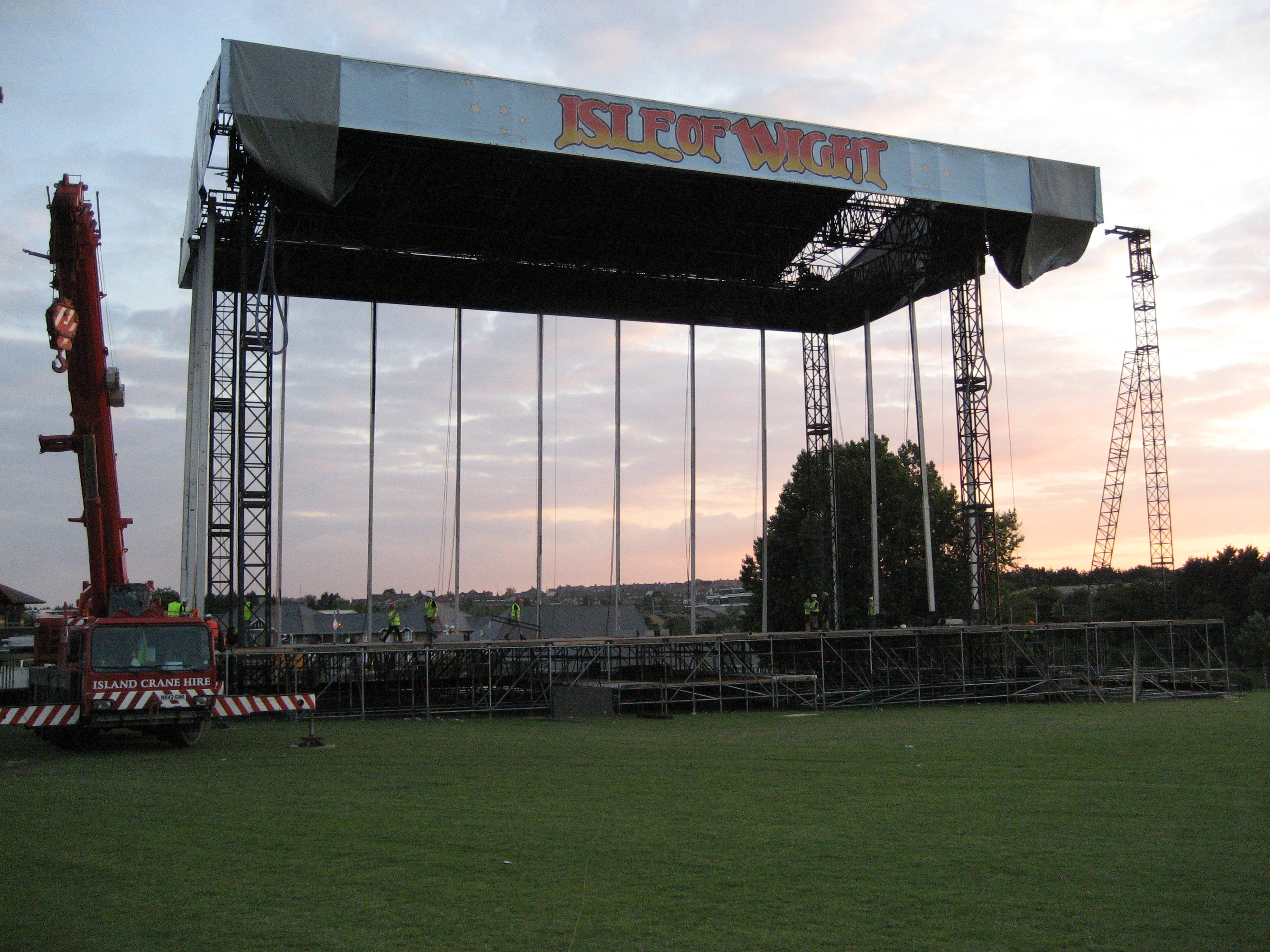 Stage Construction Stage Under Construction
