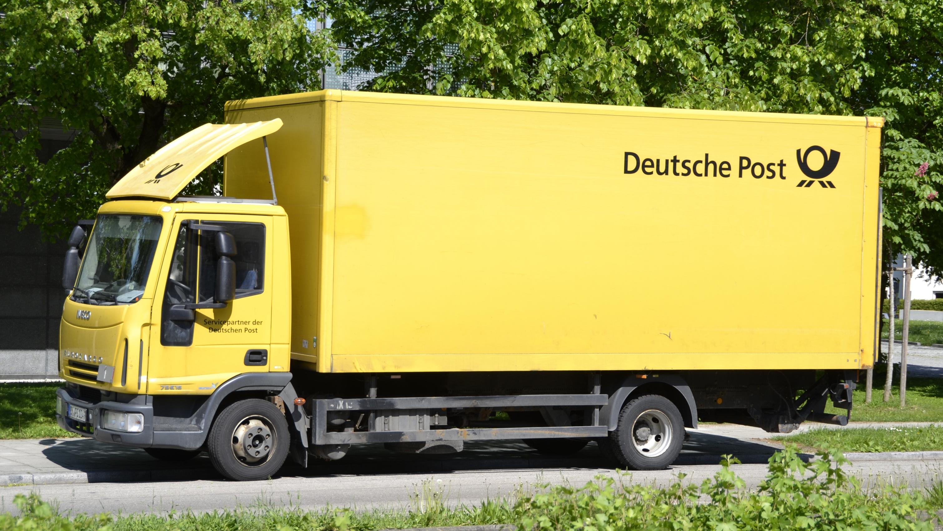 Resultado de imagen de Deutsche Post lkw