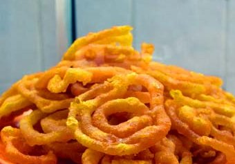Jalebi. Photo by http://www.flickr.com/photos/cayce/ CC by 2.0