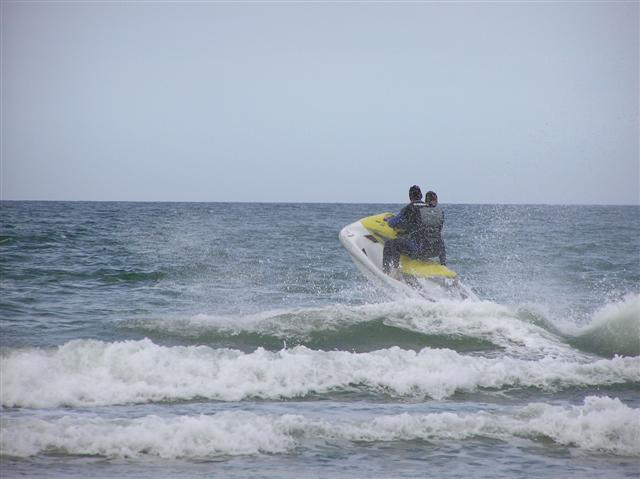 File:Jet skis at Downhill - geograph.org.uk - 222964.jpg