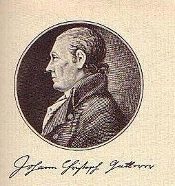 Johann Christoph Gatterer, portrait