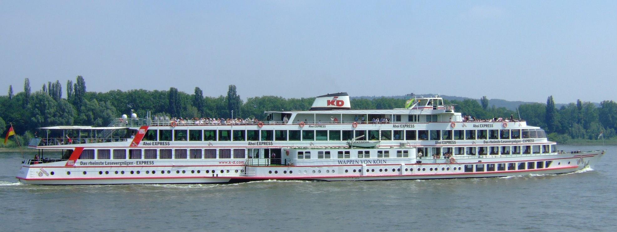 Siehe auch  Liste der Schiffe der KölnDüsseldorfer Deutsche