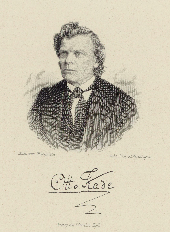 Otto Kade, [[steel engraving