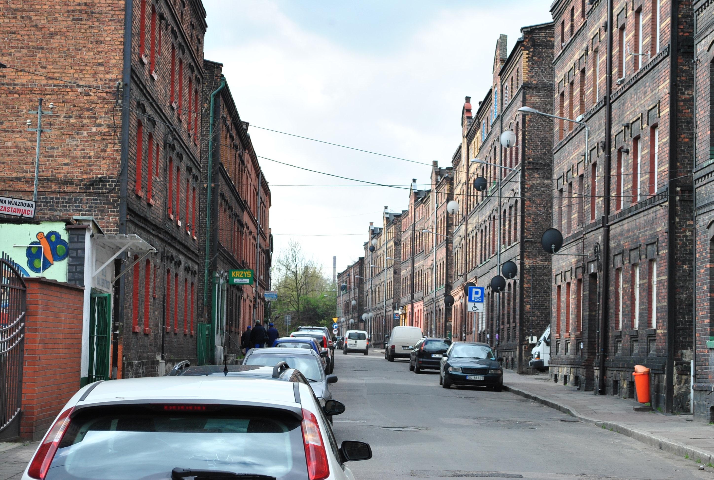 Ulica Wincentego Janasa w Katowicach