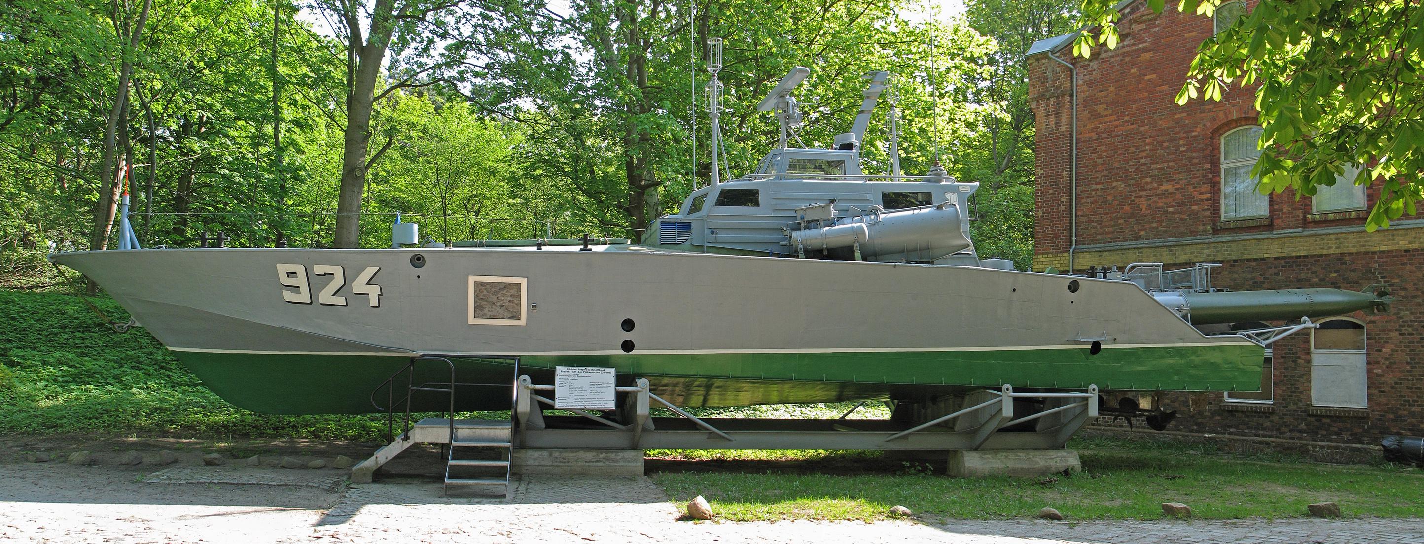 Qu'est devenue la marine Est-allemande? Kleines_Torpedoschnellboot_Projekt_131_Libelle