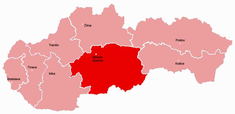 Banska Bystrica Slovakia  City pictures : Kraj Banska Bystrica Slovakia