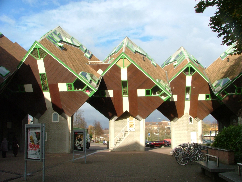 Kubuswoningen aan Speelhuisplein, Helmond