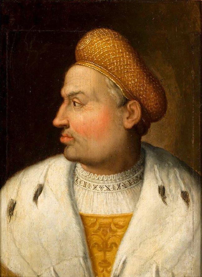 Портрет польского короля Сигизмунда I. Приписывается Гансу фон Кульмбаху. Между 1511 и 1518 годами. Национальный музей, Познань