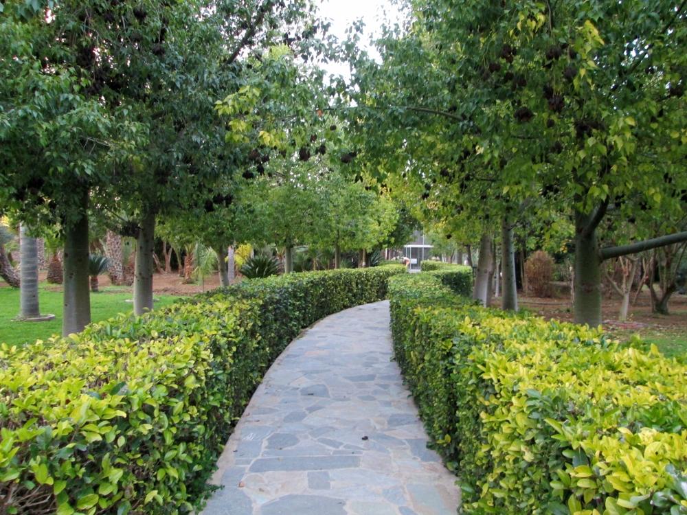 File:Kykkos Orthodox Christian Monastery Gardens Nicosia Republic of ...