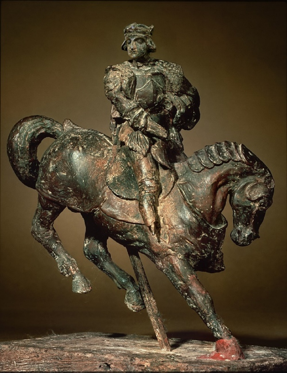 Horse And Rider (attributed To Leonardo)