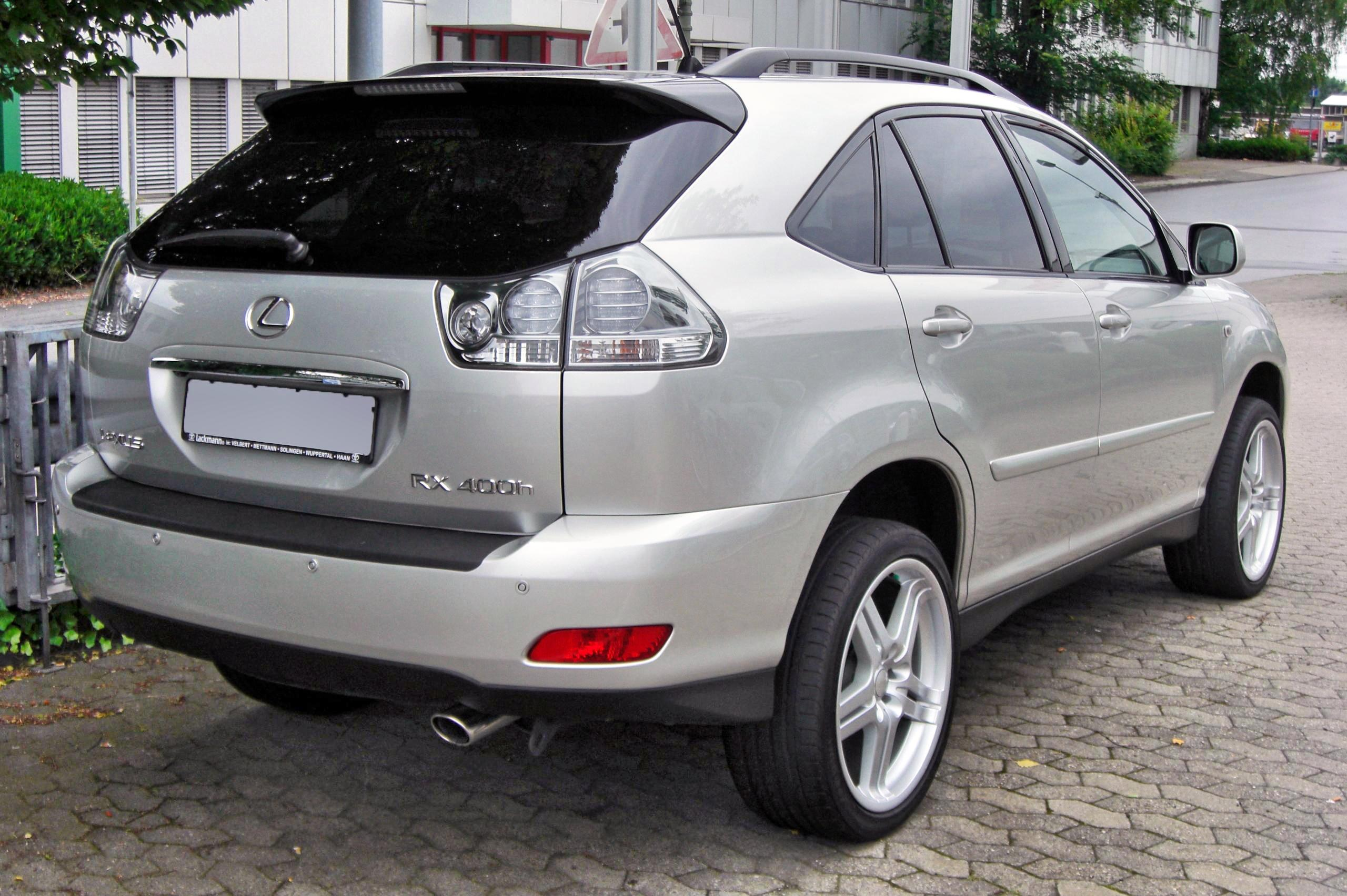 File Lexus Rx 400h Ii 20090620 Rear Jpg Wikimedia Commons