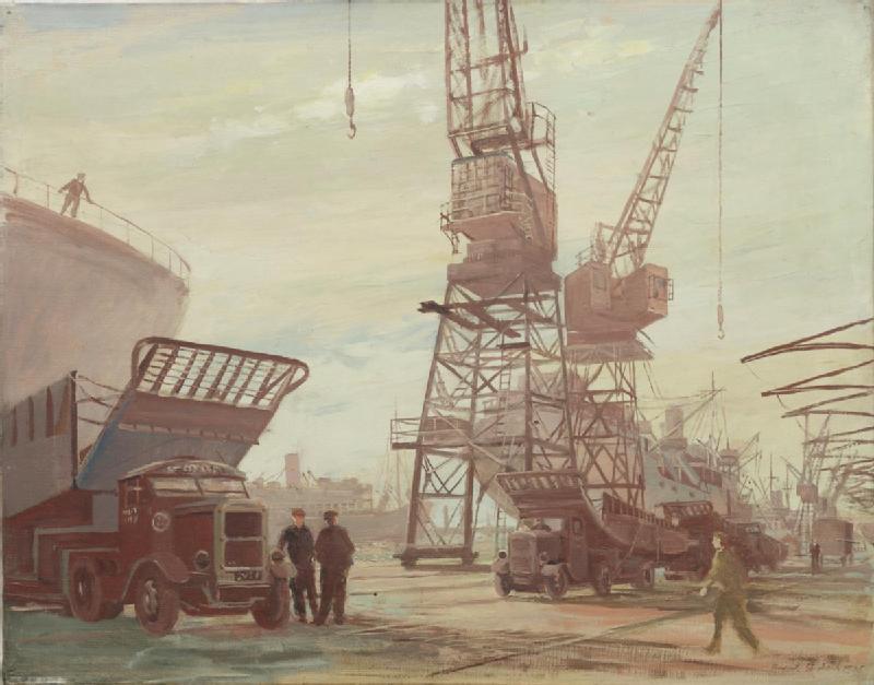 1945 in art