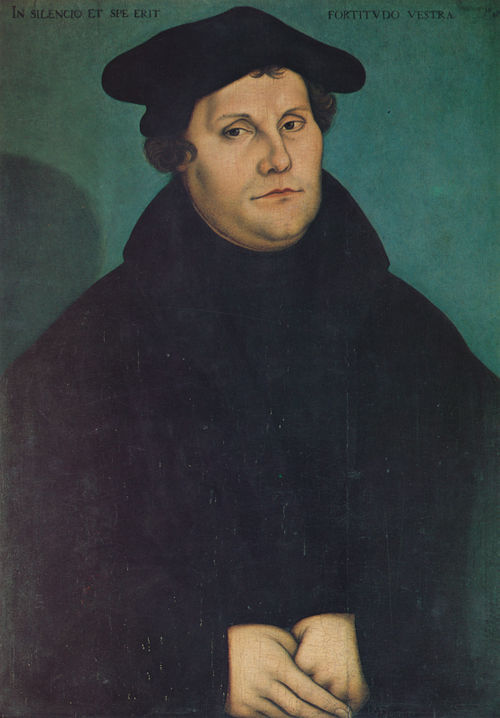 Martin Luther Augsburg