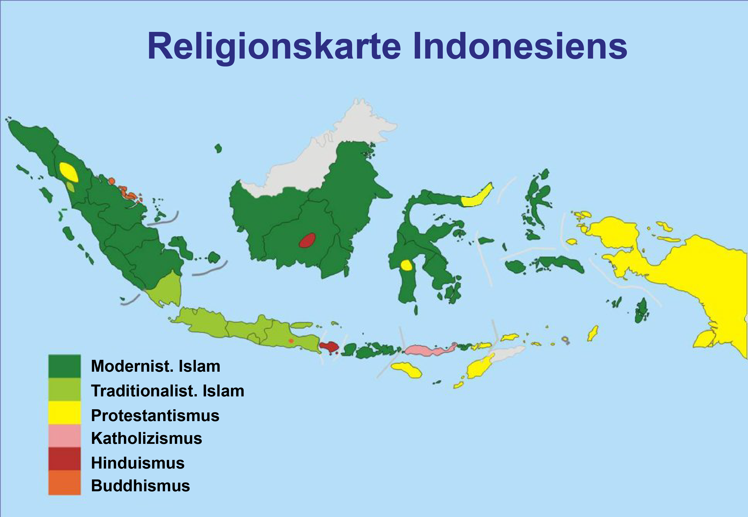 Indonesia Religion Map File:map Indonesian Religions
