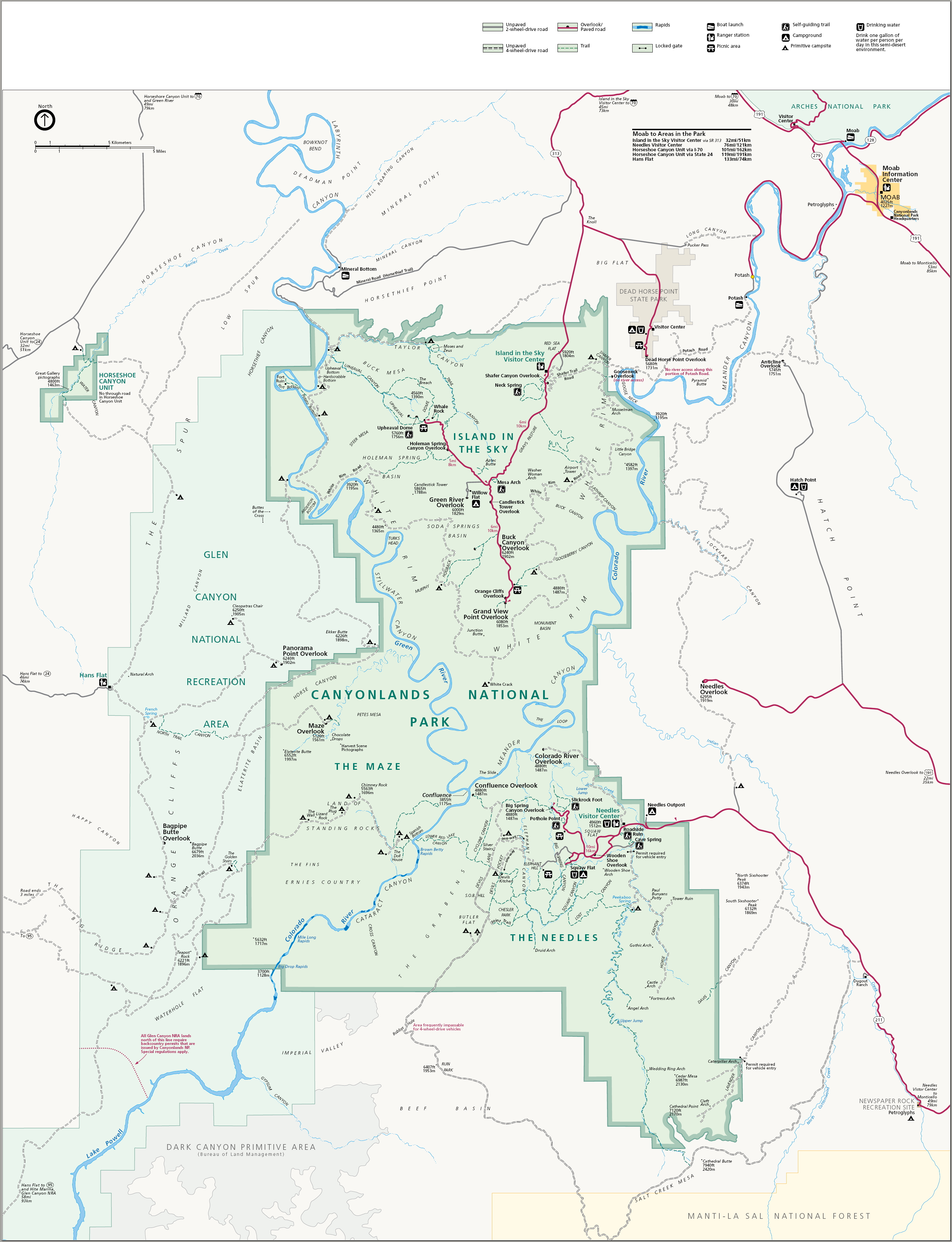 FileMap of Canyonlands National Parkjpg Wikimedia Commons