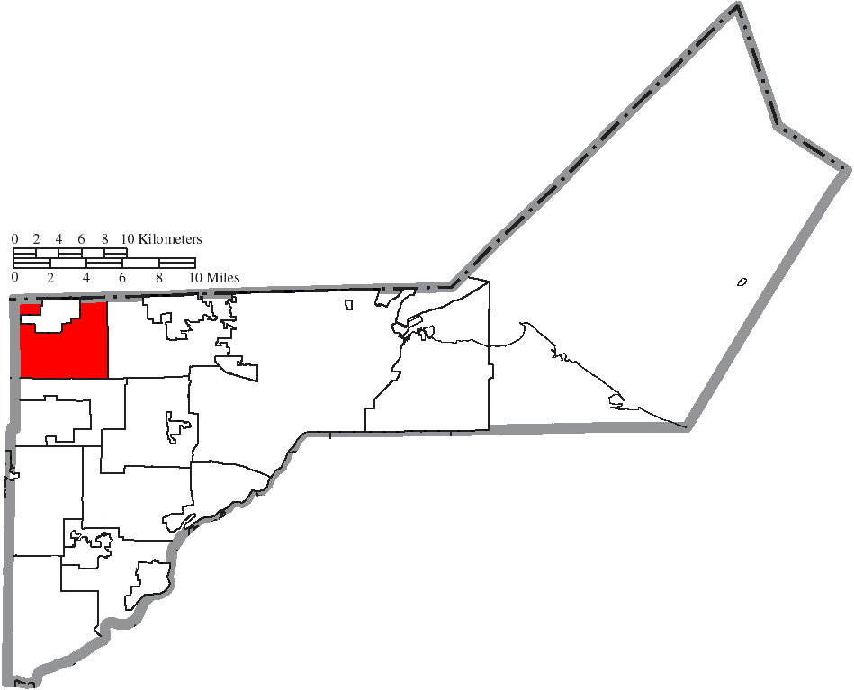 File Map Of Lucas County Ohio Highlighting Richfield Township Png