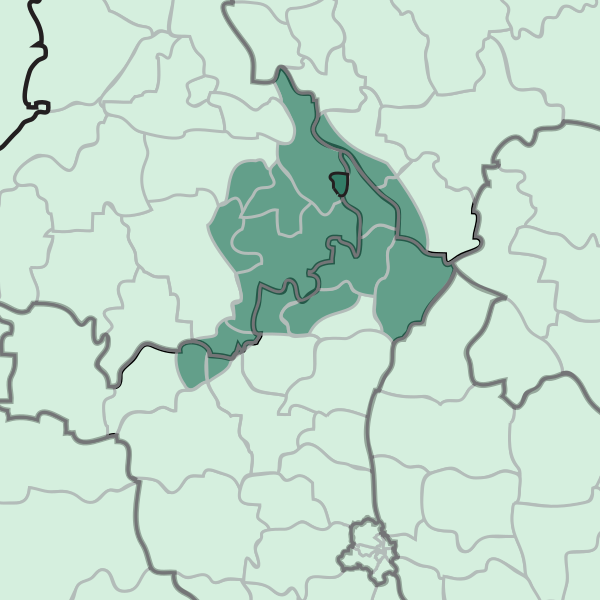 The Puadh region consists of the eastern districts of Punjab, the north-western portions of Haryana and the southernmost strip of Himachal Pradesh.