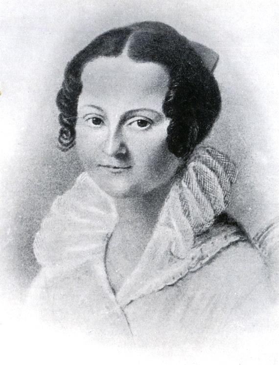 Мать писателя — Мария Фёдоровна