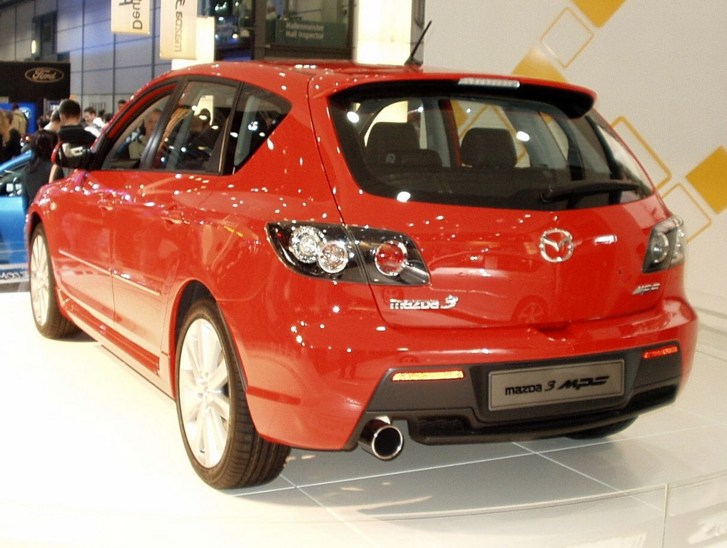 File:Mazda 3 MPS Heck.jpg - Wikimedia Commons