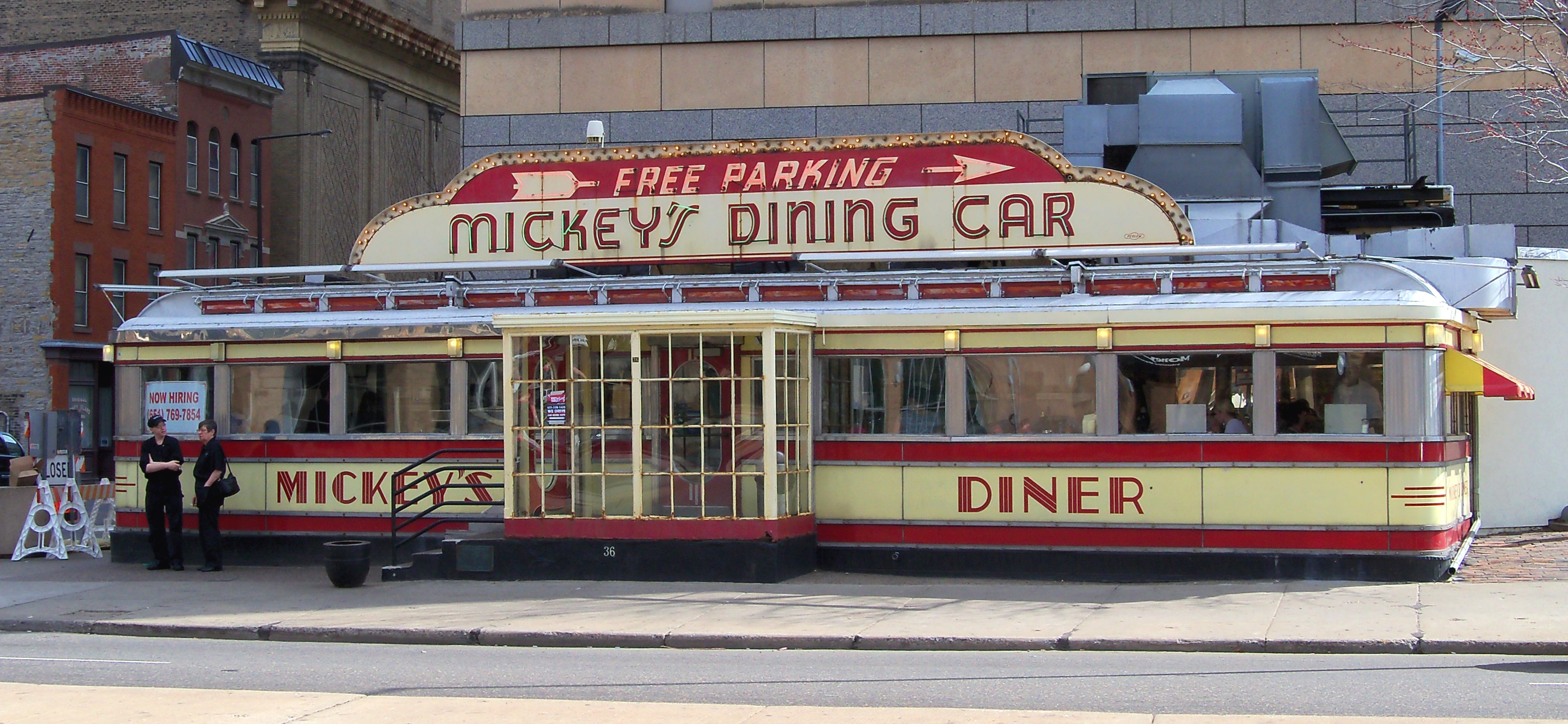 File mickey 39 s diner wikimedia commons for Diner picture
