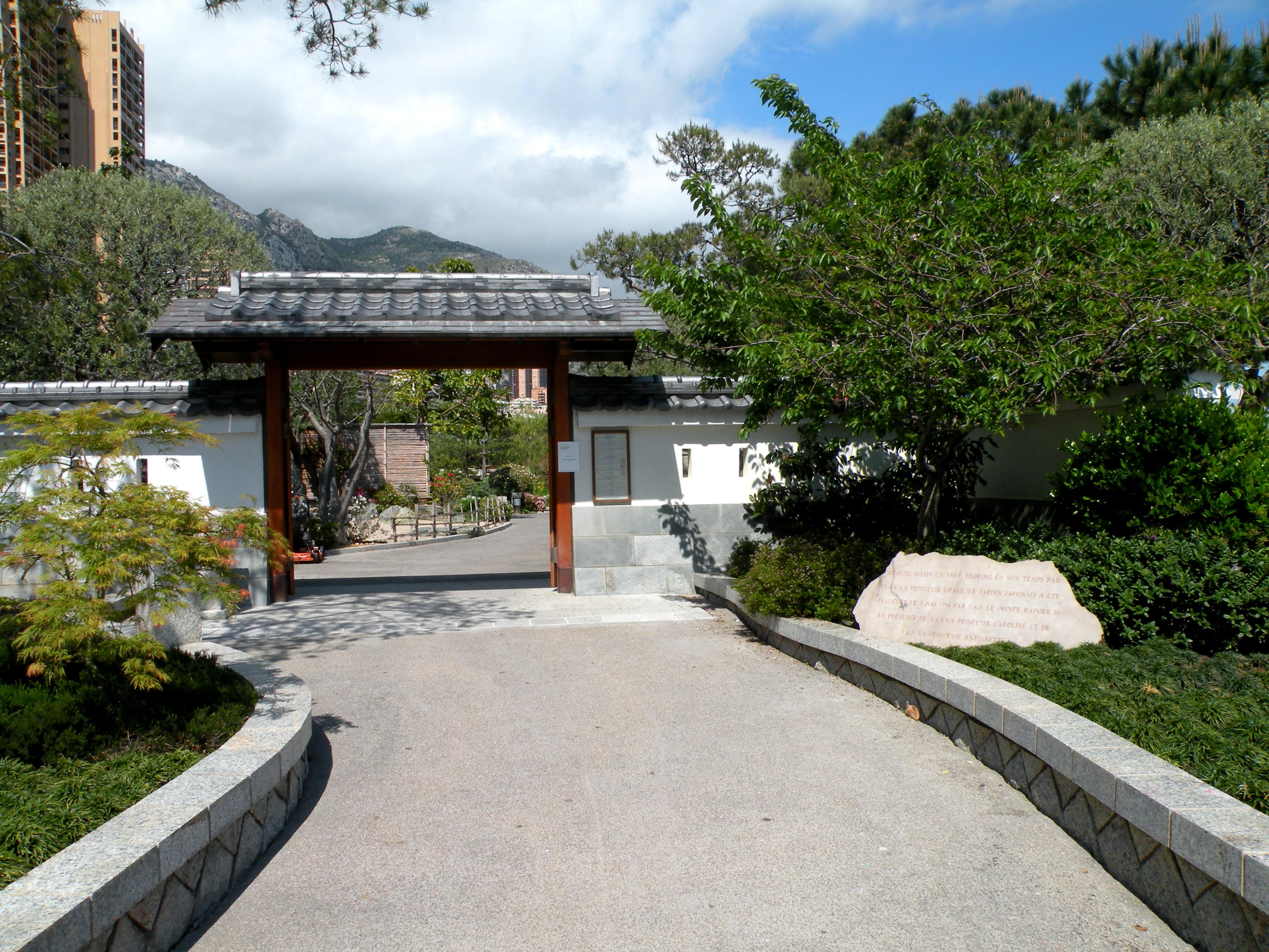 File monaco entrance japanese garden for Japanese garden entrance