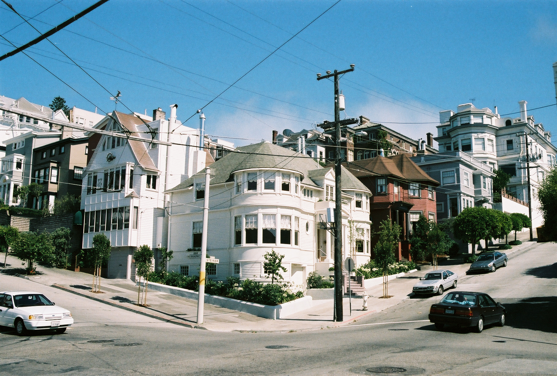 2640 Steiner Street, built in 1893 and featured in the film