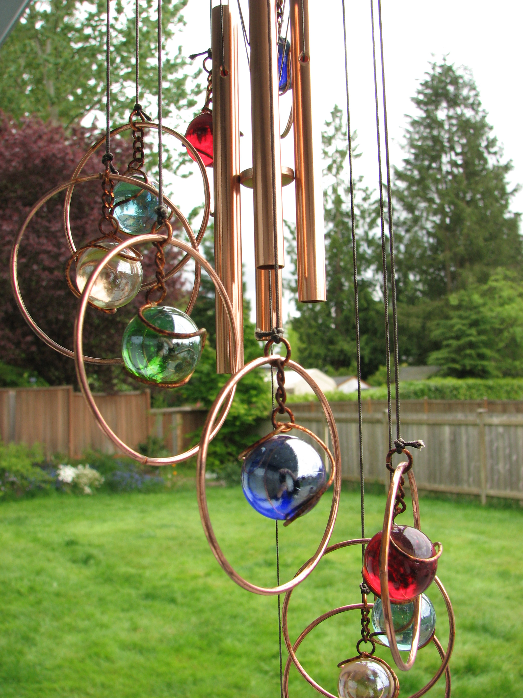How To Make Wind Chimes Easy Wind Chime Ideas
