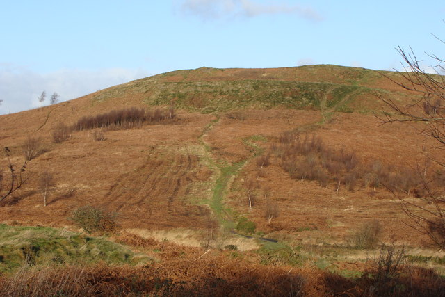Mynydd Rudry in Winter colours - geograph.org.uk - 1069808