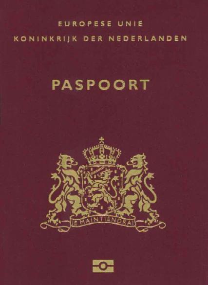 Niederlande ReisepaГџ
