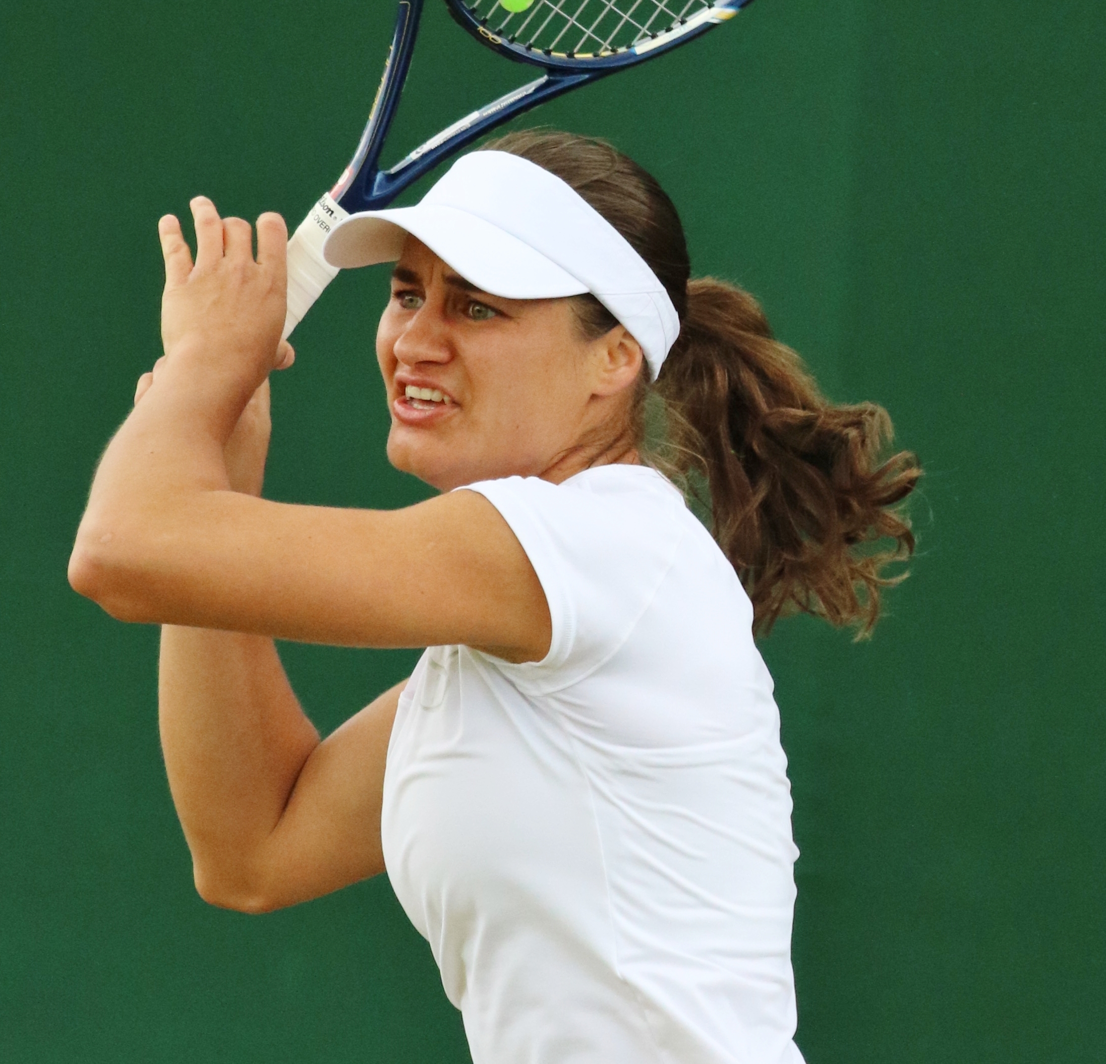 The 30-year old daughter of father (?) and mother(?) Monica Niculescu in 2018 photo. Monica Niculescu earned a  million dollar salary - leaving the net worth at 4.3 million in 2018