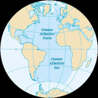 Océano Atlántico Wikipedia La Enciclopedia Libre