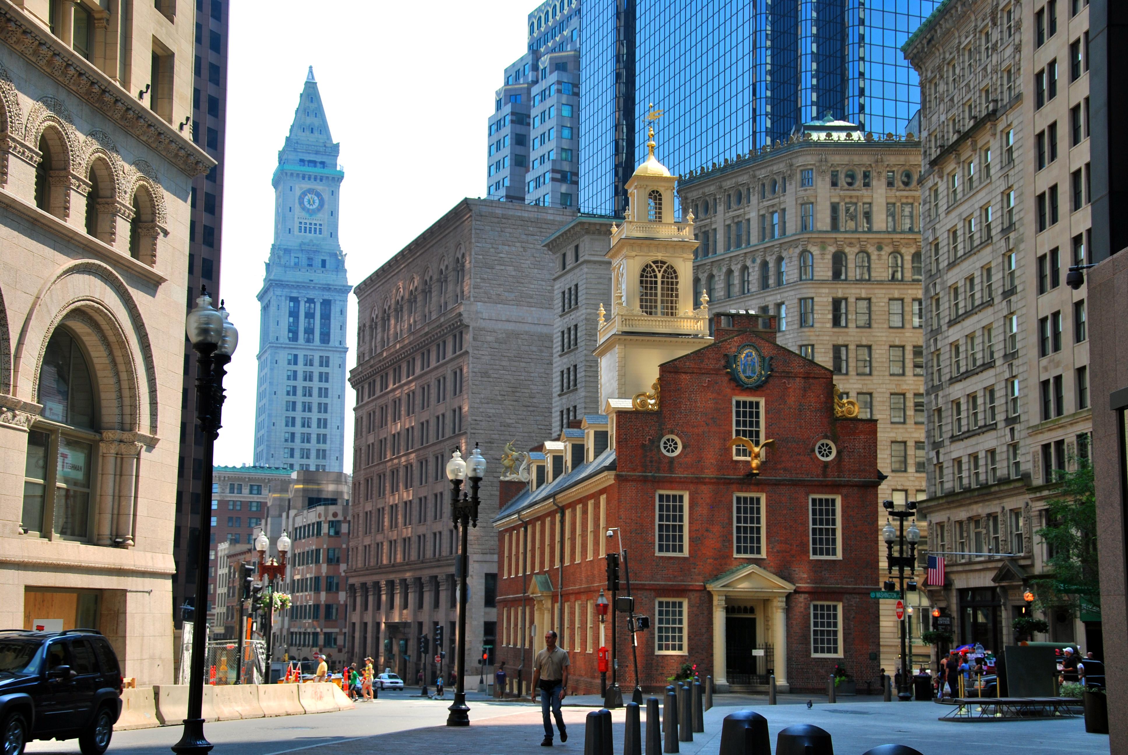Boston April