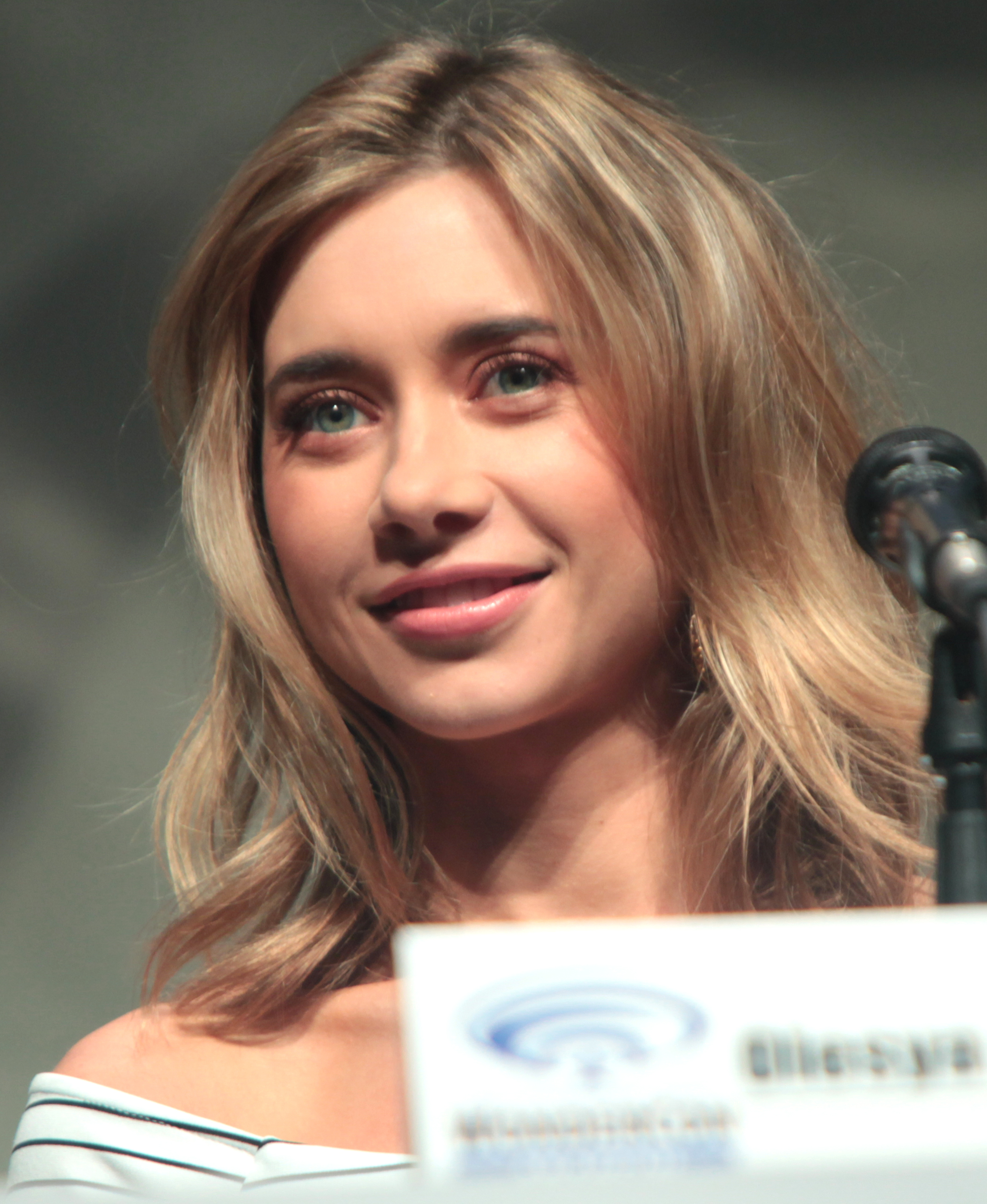 The 32-year old daughter of father (?) and mother(?) Olesya Rulin in 2018 photo. Olesya Rulin earned a  million dollar salary - leaving the net worth at 1 million in 2018
