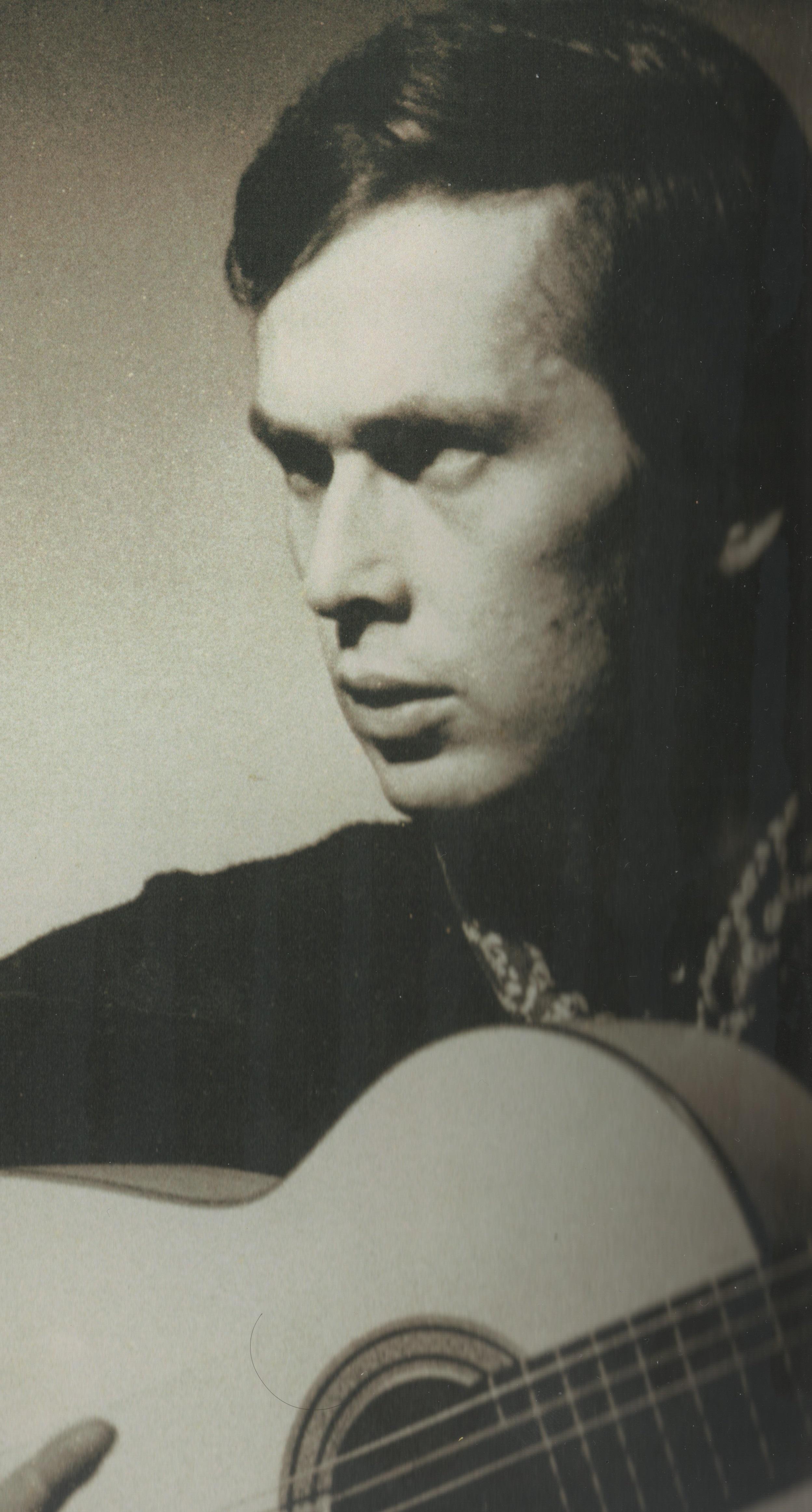 Paco de Lucía en 1972.