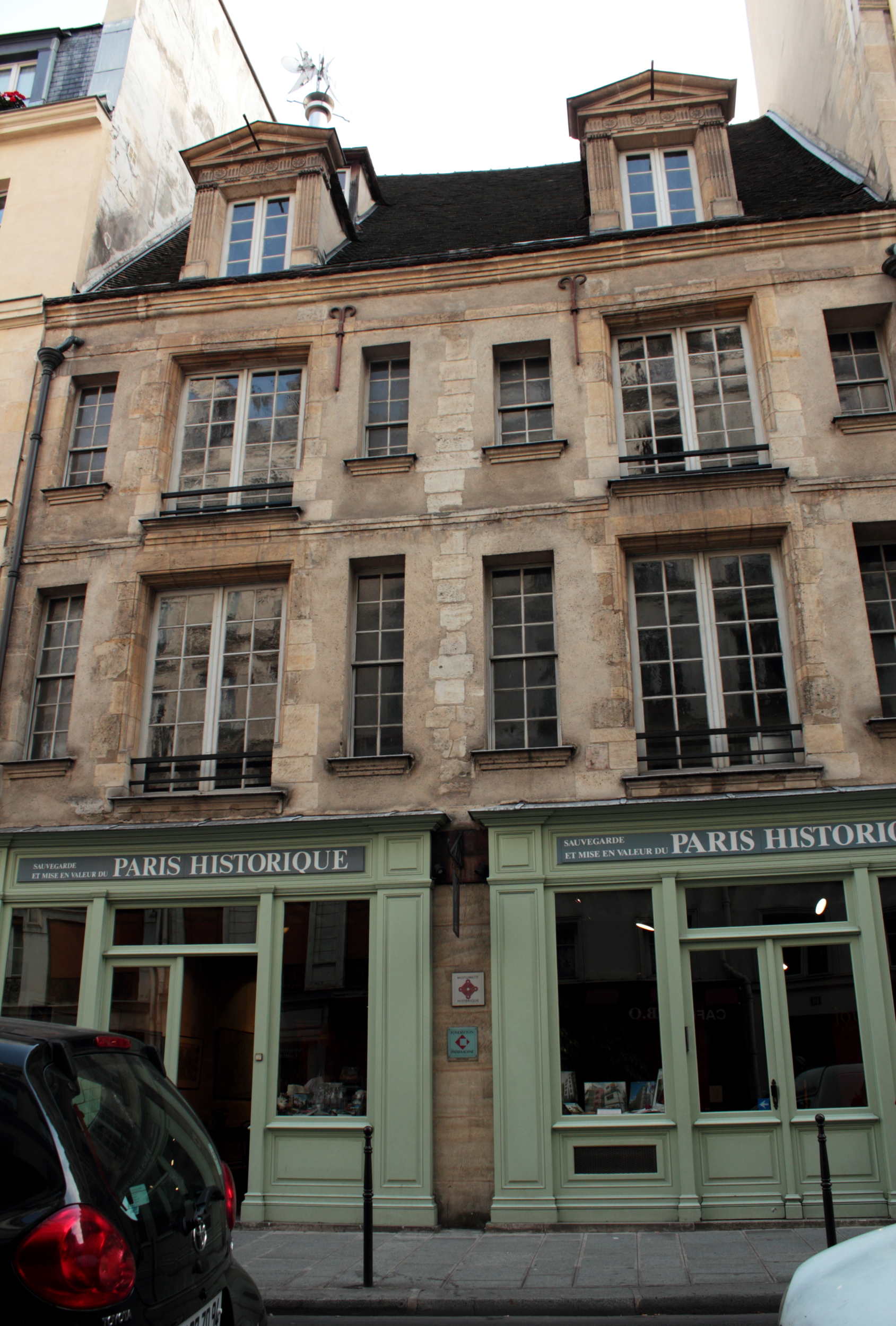 File paris maison d 39 wikimedia commons - Maison des truffes paris ...