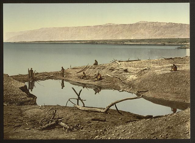 ים המלח - ראשית המאה ה20