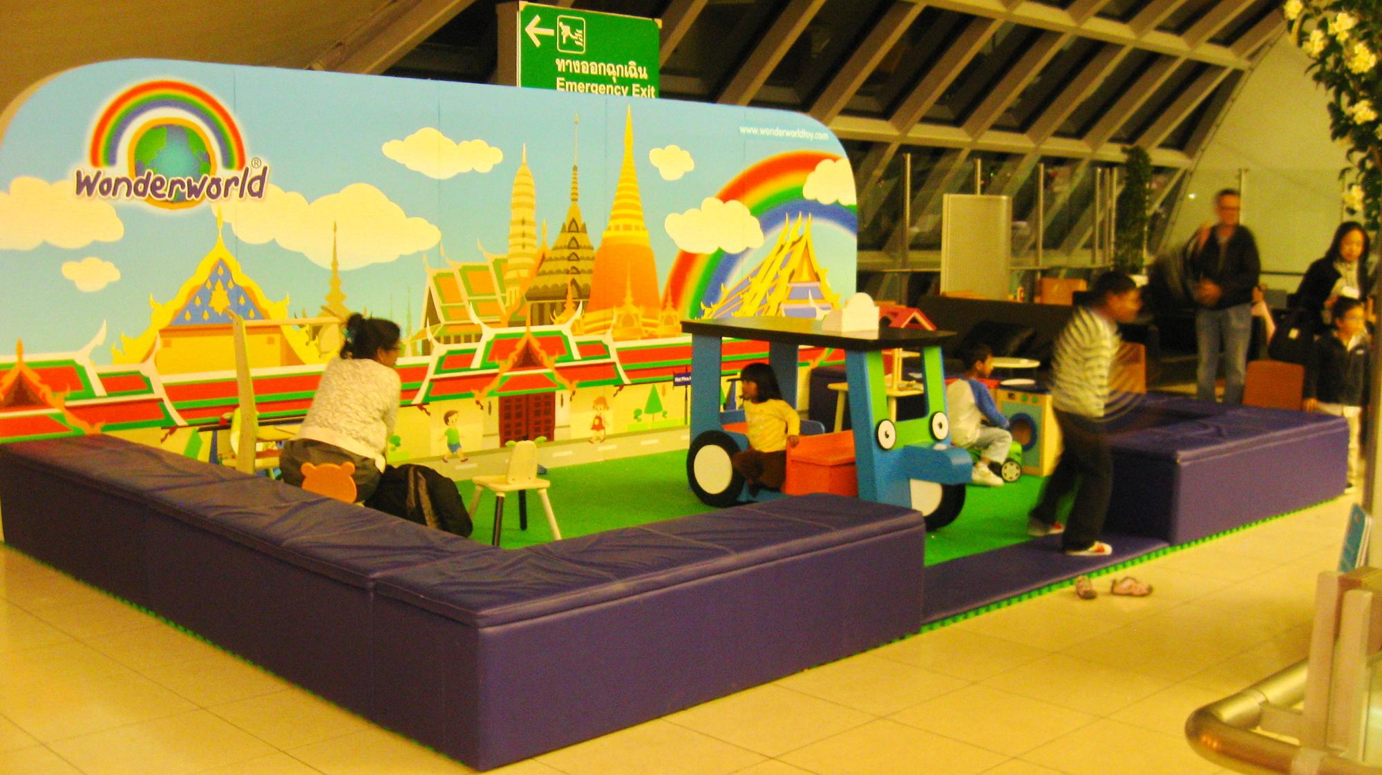 FilePlay Area At Suvarnabhumi Intl Airport Bangkok