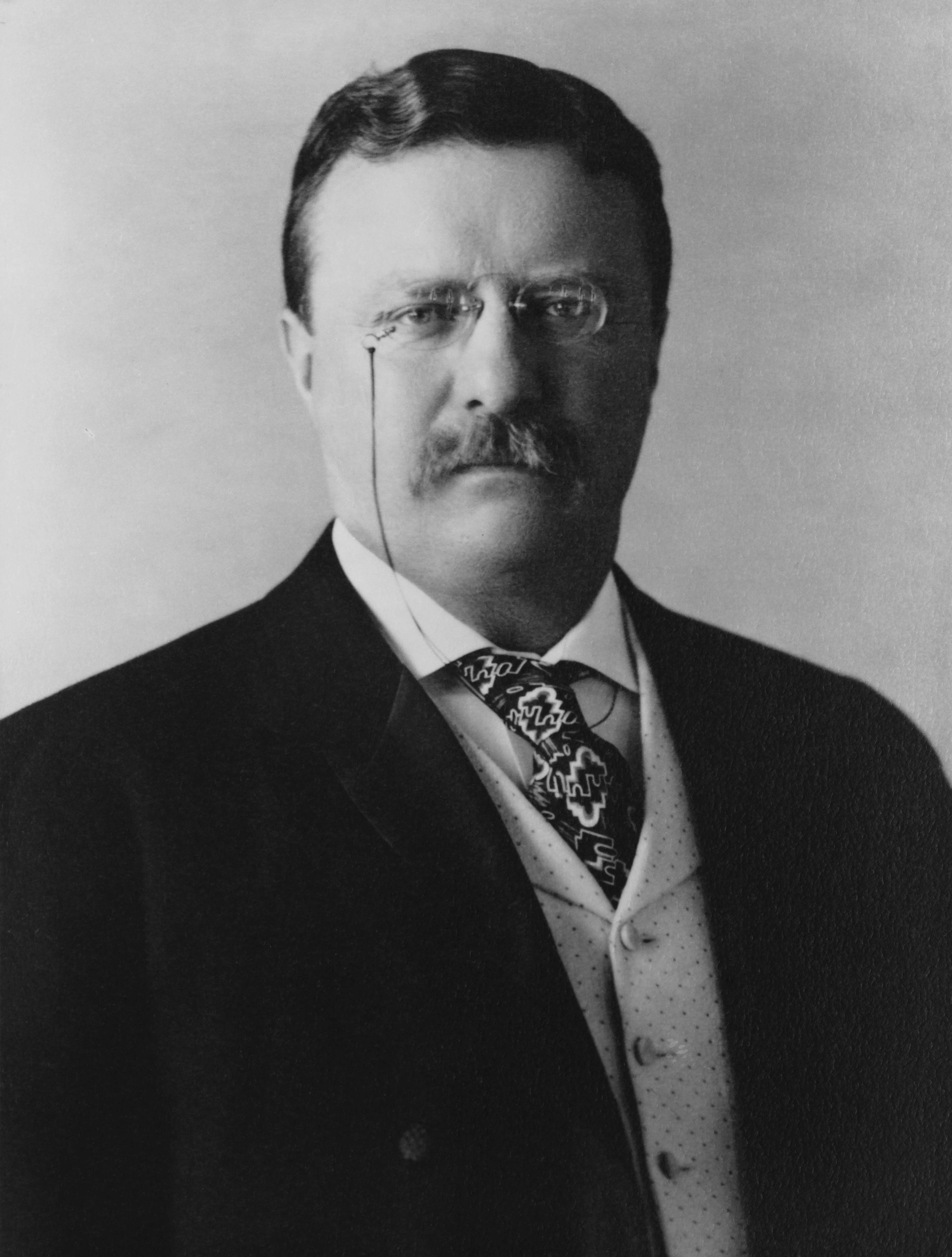 Theodore Roosevelt, presidente de Estados Unidos entre 1901 y 1909.