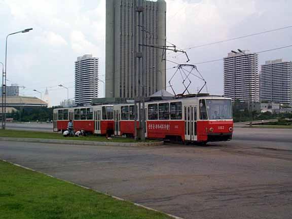 Pyongyang tram