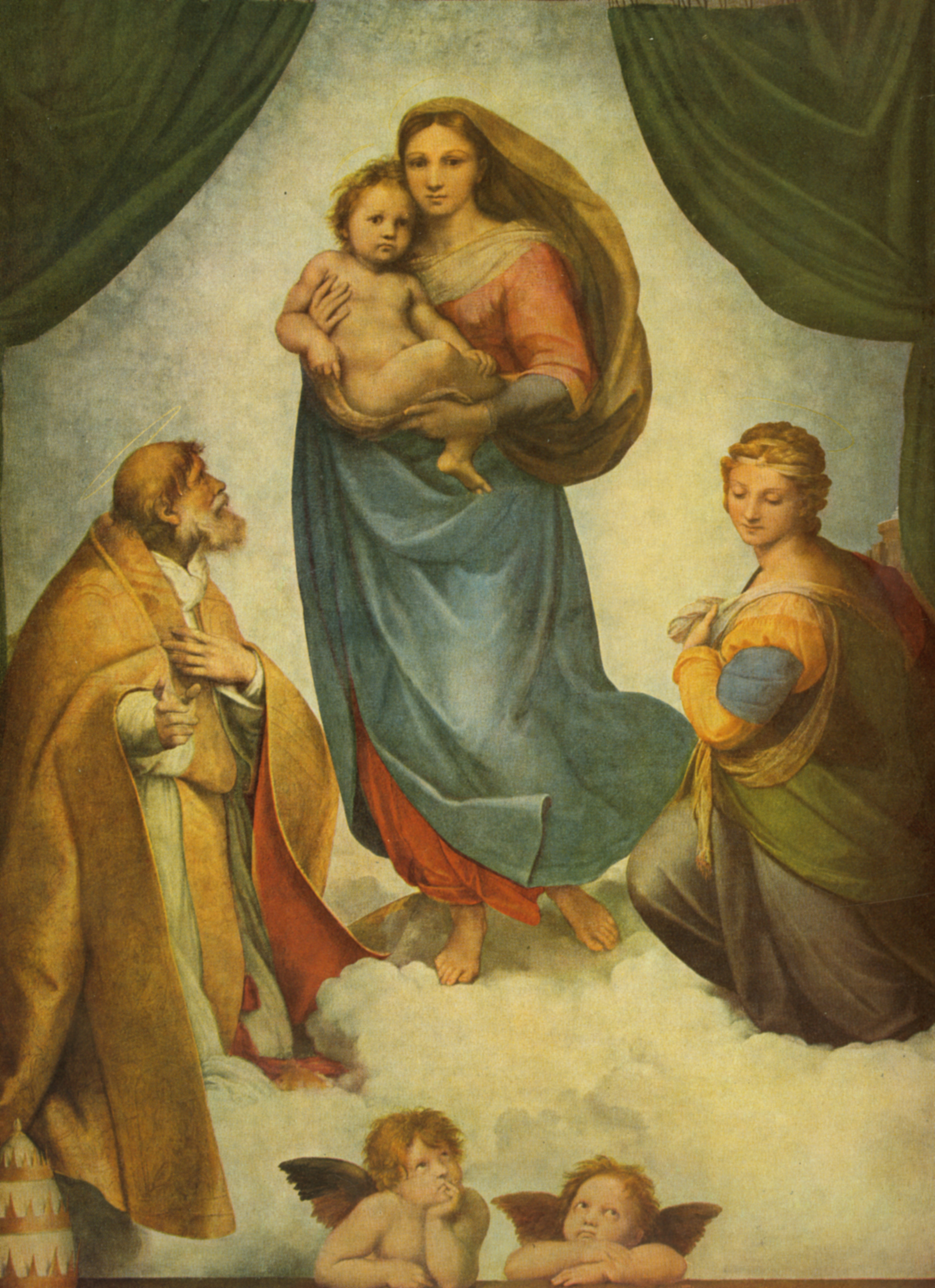 Sixtinische Madonna, Raffaello Sanzio