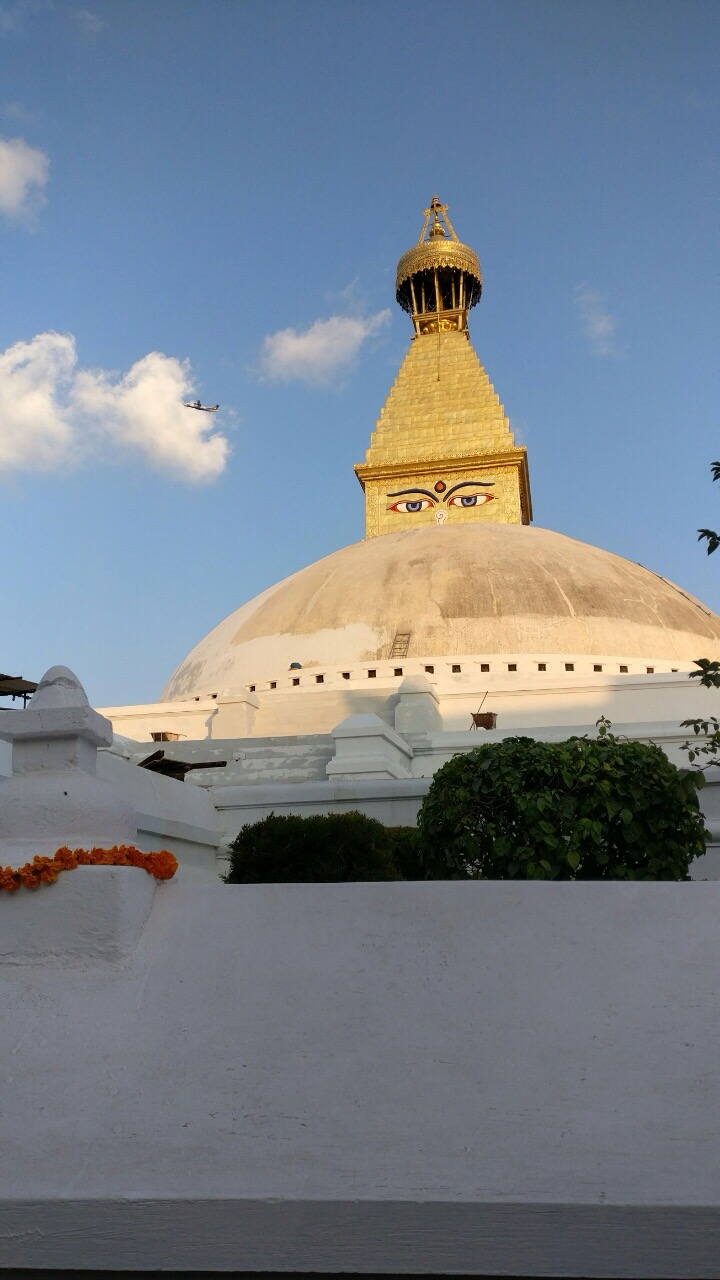 File renovation of boudhanath stupa after the devastating for Renovation wiki