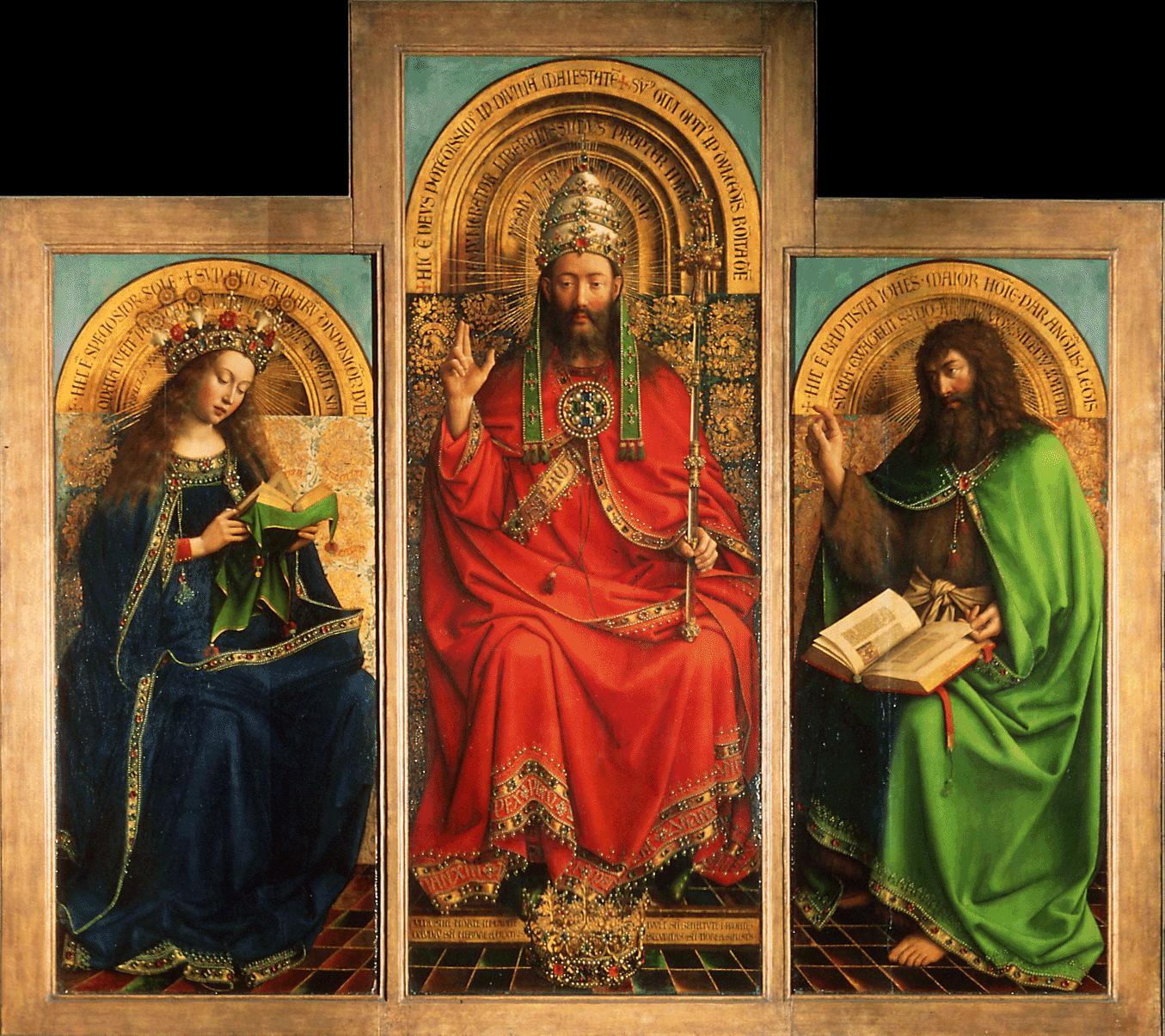 Ghent Altarpiece Lamb File:Retable de l'Agne...
